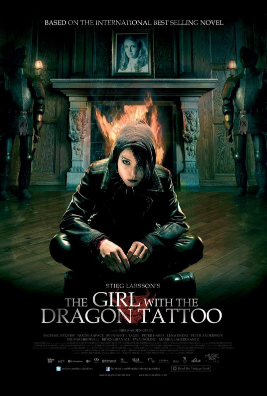 the girl with the dragon tattoo english vs swedish films