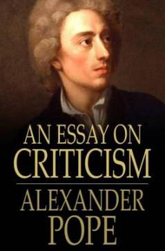 Analysis of an essay on criticism ddns net An Essay on Criticism Alexander POPE Audiobook   YouTube