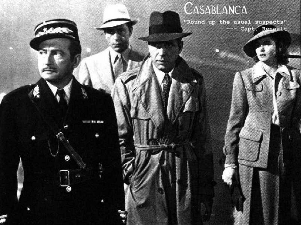 casablanca movie review Casablanca (1942) was directed by michael curtiz and based on murray burnett and joan alison's unproduced stage play everybody comes to rick's the film stars humphrey bogart, ingrid bergman, paul.