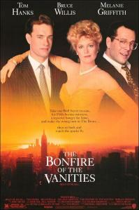 The Bonfire of the Vanities Poster